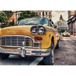 پوستر دیواری طرح تاکسی زرد کد T.004