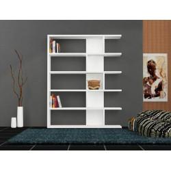 قفسه کتاب چوبی کد 27