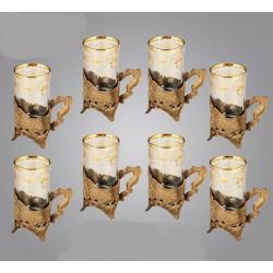 فنجان چای خوری پایه دار کد 2015