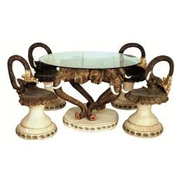 میز صندلی مدل شکوه دوران VC4_A کد 3464