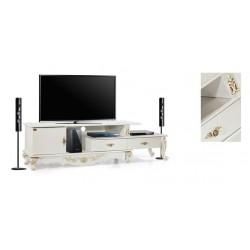 میز تلویزیون سفید های¬گلاس کد 2025
