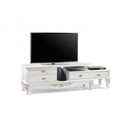 میز تلویزیون سفید های¬گلاس کد 2026