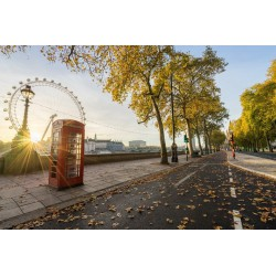 پوستردیواری طرح شهر لندن کد Nu.051