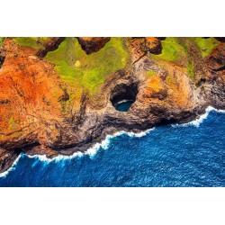 پوستردیواری طرح بر فراز صخره ساحلی کد Nu.015