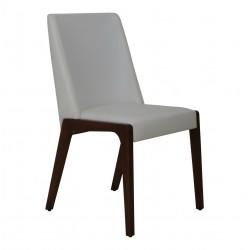 صندلی چوبی خاکستری مدل آرنا