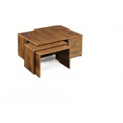 میز جلو مبلی و میز عسلی طبقه ای ساده