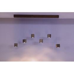 چراغ هالوژن مدل آویز سقفی کیوبیک کد 170A01