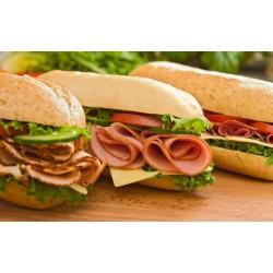 پوستردیواری سه بعدی طرح ساندویچ ژامبون کد FO.015