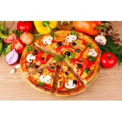 پوستردیواری سه بعدی طرح پیتزا مخلوط کد FO.012