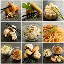 پوستردیواری سه بعدی طرح غذاهای ژاپنی کد FO.008