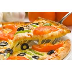 پوستردیواری سه بعدی طرح پیتزای گوجه فرنگی کد FO.004