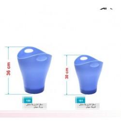 سطل اداری پلاستیکی جهان
