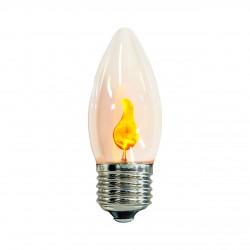 لامپ حبابی انگاره مدل شعله سوسوزن