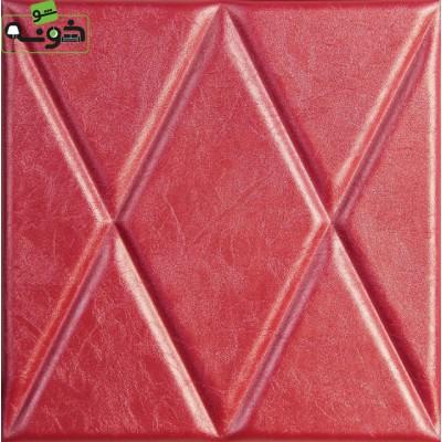 پنل سه بعدی چرم مدل Diamond1