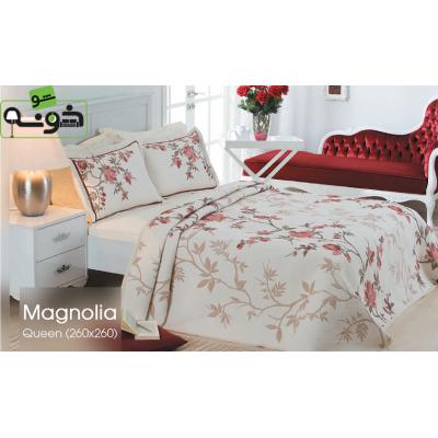 روتختی کوئین ژاکارد 3 تکه مدل Magnolia