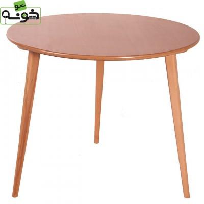 میز چهار نفره روکش طبیعی مدل TW1