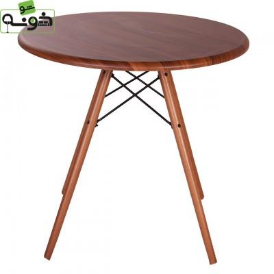 میز چهارگوش با پایه های فلزی کد T14