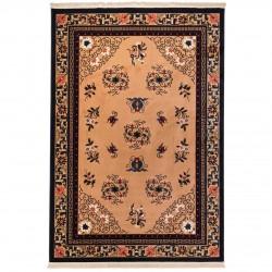 فرش ماشینی 500 شانه دنیای فرش طرح گبه عشایری کد 1014