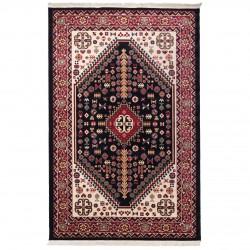 فرش ماشینی 500 شانه دنیای فرش طرح گبه عشایری کد 1027