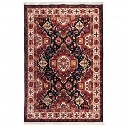 فرش ماشینی 500 شانه دنیای فرش طرح گبه عشایری کد 1028