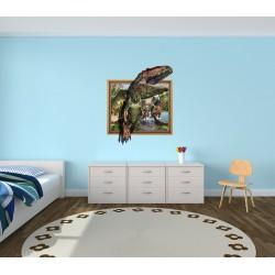 استیکر اتاق کودک مدل دایناسور