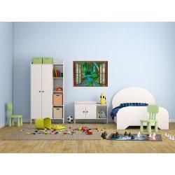 استیکر اتاق کودک مدل طبیعت رنگارنگ