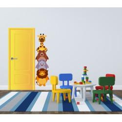 استیکر اتاق کودک مدل حیوانات بامزه