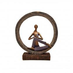 مجسمه تمرکز یوگا