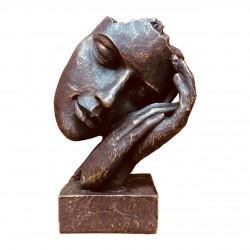مجسمه رومیزی صورتک خواب
