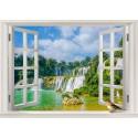 استیکر اتاق کودک مدل آبشار طبیعی