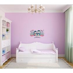 استیکر اتاق کودک مدل خانواده دوست داشتنی