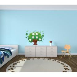 استیکر اتاق کودک مدل شجره نامه