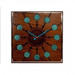 ساعت دیواری شمس مربع