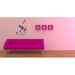 استیکر اتاق کودک مدل پرنده تنهایی