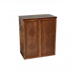 جاکفشی چوبی عباسی قهوهای