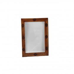 آینه دیواری عباسی قهوه ای