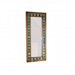 آینه قدی طرح فیروزهای کد 2503