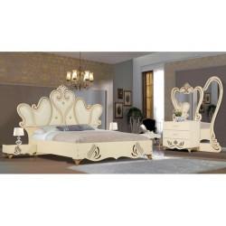 سرویس خواب عروس سفید مدل پادینا
