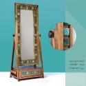 آینه ایستاده چوبی کشودار