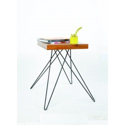 میز مدرن چوب و فلز کد A131