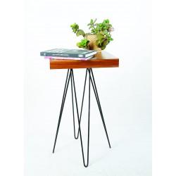 میز مدرن چوب و فلز کد A132