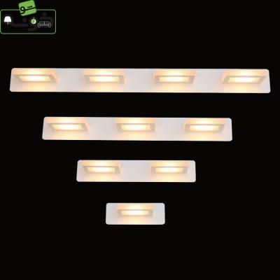 چراغ بالای آینه سفید A34