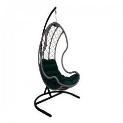 تاب صندلی آویز مدل 24 رنگ سبز یشمی