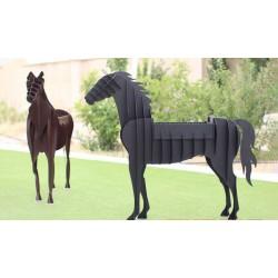 باربیکیو دکوراتیو طرح اسب Barbecue Horse