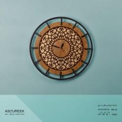 ساعت دیواری گرد میکس متال ترنج آسوریک مدل MXSA29039