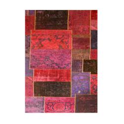فرش خشتی ترکیبی چند رنگ 6