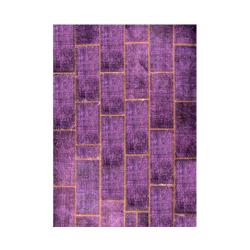 فرش خشتی تک رنگ (مستطیل)