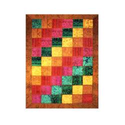 فرش شطرنجی اریب حاشیه دار