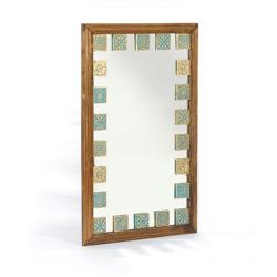 آینه دیواری و رومیزی خشتی 1380