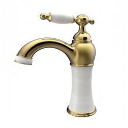 شیر روشویی توتی مدل کوارتز گلد-5731G